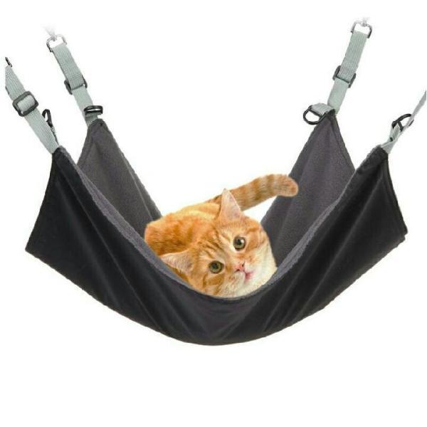 ペット 猫 用 ハンモック 2way ねこ ネコ キャット ワイドサイズ マット ベッド ケージ 大判|funny-store|09