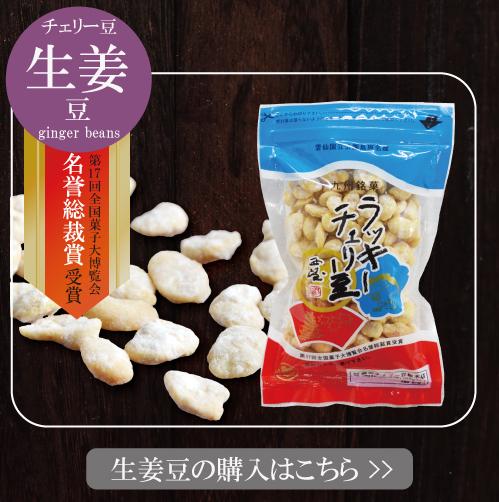 生姜豆 ラッキーチェリー豆