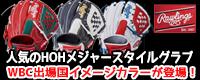 ローリングス 野球グローブ HOH メジャースタイル WBC出場国イメージカラーモデル