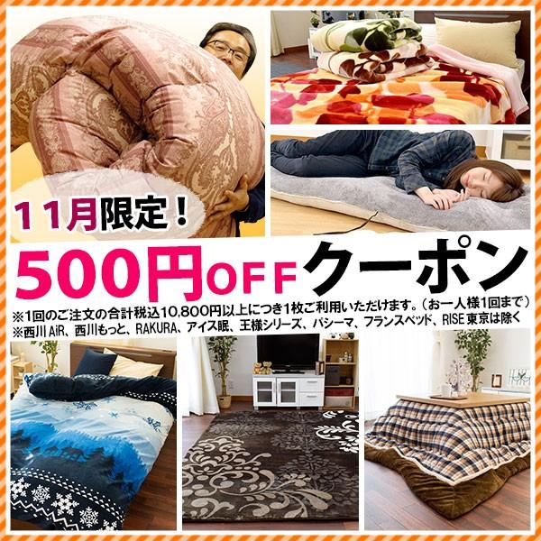 11月限定★税込10,800円以上のお買い物で500円引きクーポン
