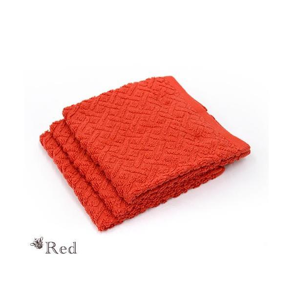 ハンドタオル ホテルタオル 3枚セット 34×35cm ウォッシュタオル 綿100% ジャガード織タオル ハンカチ futon 15