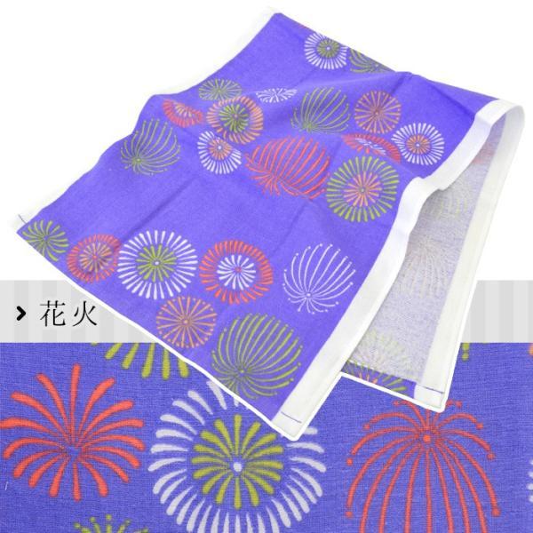 フェイスタオル 【夏】 日本製やわらか表ガーゼ&裏パイル てぬぐい|futon|12