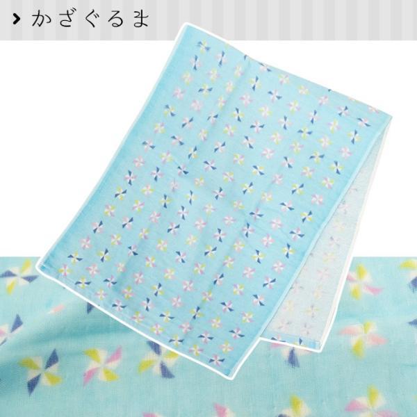 フェイスタオル 【夏】 日本製やわらか表ガーゼ&裏パイル てぬぐい|futon|09
