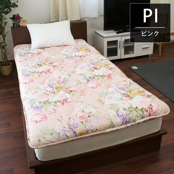 敷布団 敷き布団 シングル 日本製 極厚 体圧分散 羊毛(ウール)混 三層式 プロファイル敷きふとん|futon|08