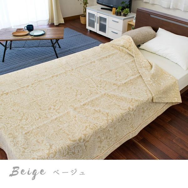 ウール毛布 シングル 日本製 毛羽部分 羊毛100% 獣毛 ブランケット 掛け毛布 ロマンス小杉|futon|08
