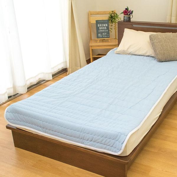 アウトラスト 敷きパッド シングル 東京西川 ニット生地 快適 調温 オールシーズン 洗える敷パッド|futon|17