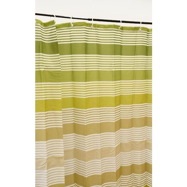 シャワーカーテン 幅142cm×丈180cm 洗える 撥水 バスカーテン マリブ リングフック付き 浴室用カーテン ゆうメール便|futon|09