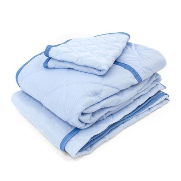 ひんやり寝具4点セット ダブル 接触冷感 肌掛け布団 冷感敷きパッド 枕パッド|futon|15