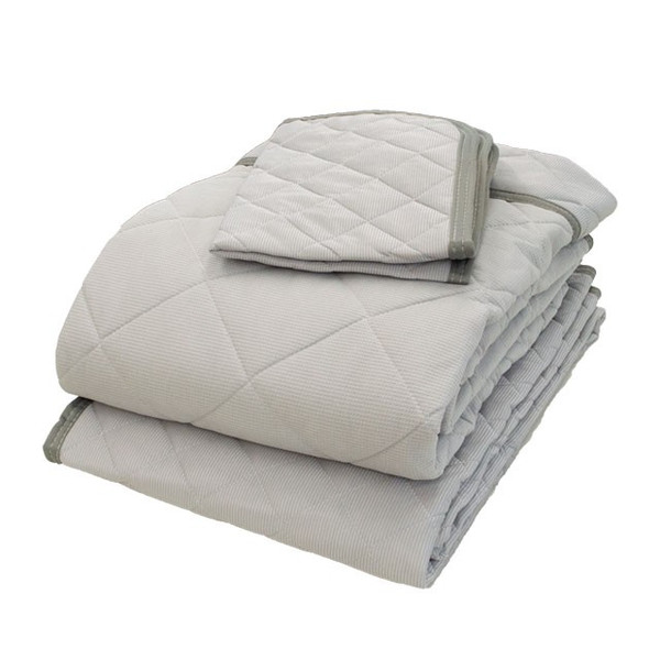 ひんやり寝具4点セット ダブル 接触冷感 肌掛け布団 冷感敷きパッド 枕パッド|futon|16