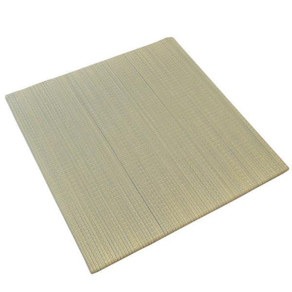 い草ユニット畳 半畳 約82×82×厚み2.5cm 縁無し 軽量 カラフル カジュアル 置き畳 綾川|futon|17