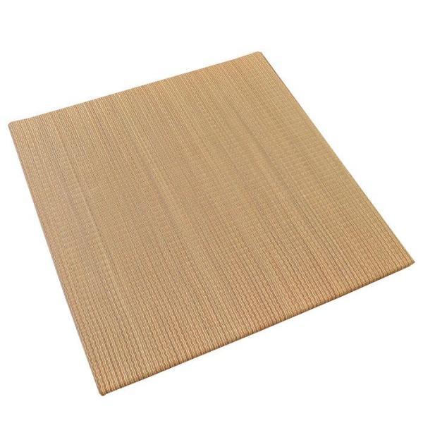 い草ユニット畳 半畳 約82×82×厚み2.5cm 縁無し 軽量 カラフル カジュアル 置き畳 綾川|futon|15