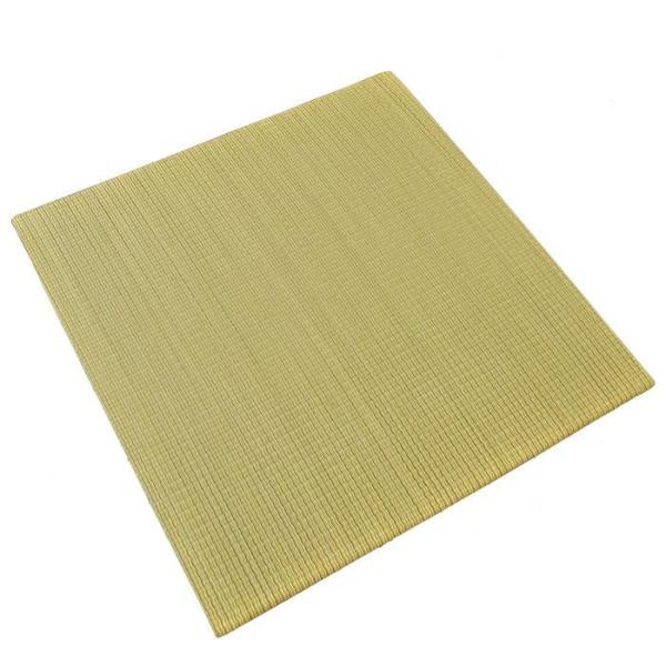 い草ユニット畳 半畳 約82×82×厚み2.5cm 縁無し 軽量 カラフル カジュアル 置き畳 綾川|futon|18