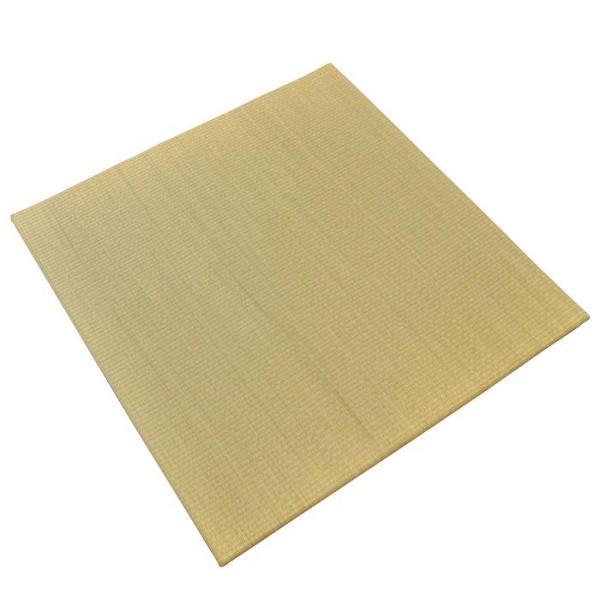 い草ユニット畳 半畳 約82×82×厚み2.5cm 縁無し 軽量 カラフル カジュアル 置き畳 綾川|futon|19