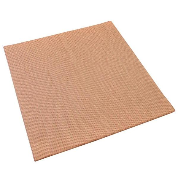 い草ユニット畳 半畳 約82×82×厚み2.5cm 縁無し 軽量 カラフル カジュアル 置き畳 綾川|futon|14