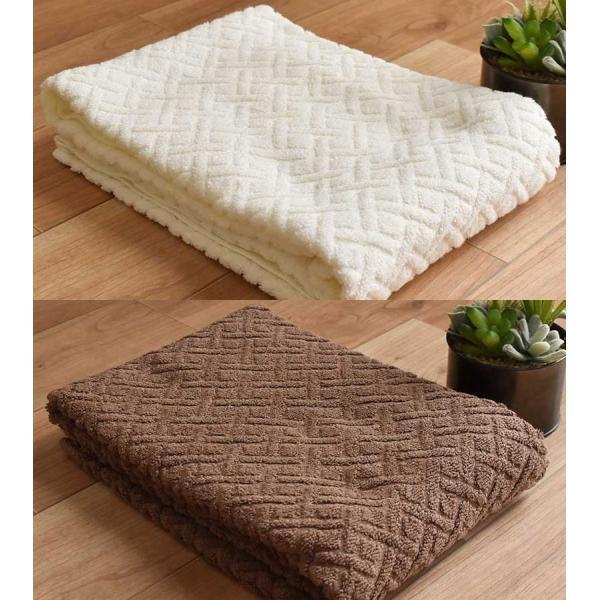 バスタオル 2枚セット ホテルタオル 60×120cm 綿100% ジャガード織|futon|21