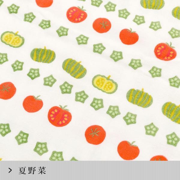 フェイスタオル 【夏】 日本製やわらか表ガーゼ&裏パイル てぬぐい|futon|14