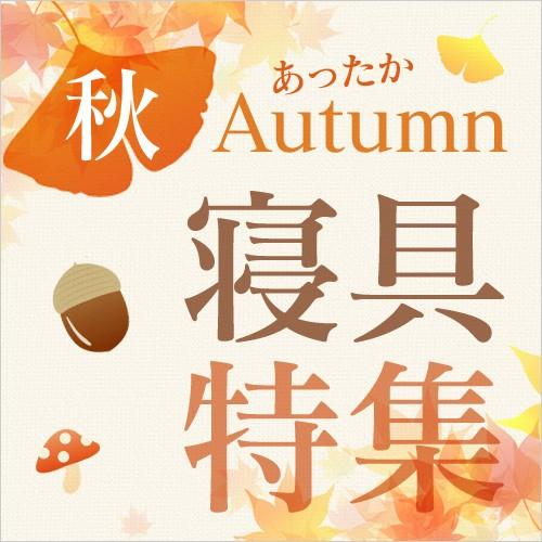 秋寝具特集