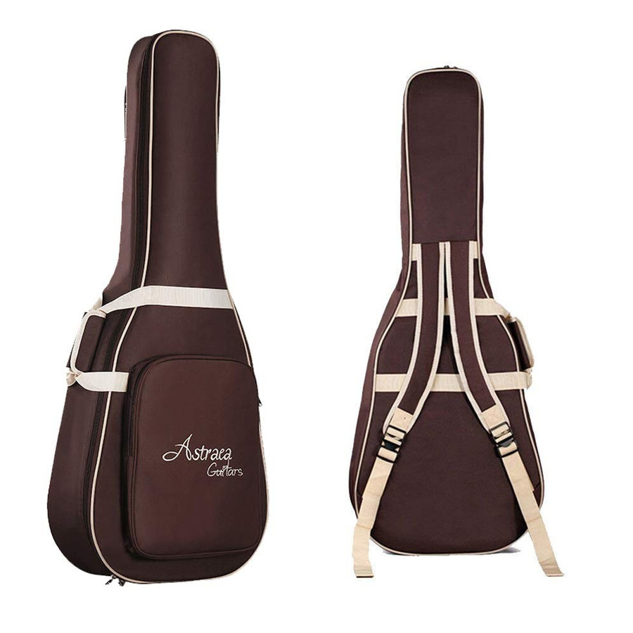 MANATSULIFE ギターケース ギグバッグ アコースティックギター 41インチ クッション付き 2WAY リュック型 手提げ ブラウン 黒 グレー 送料無料|futurelife|14