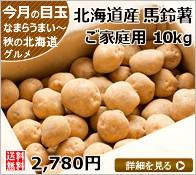 北海道産 訳あり キタアカリ 10kg Lサイズ