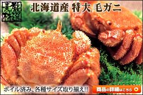 カニ 毛ガニ