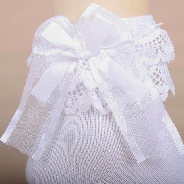 1370296d3086a8 送料無料 フリル ソックス 女の子 靴下 リボン レース 子供服 安い sox-f ...