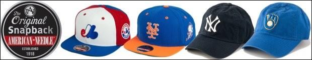 AMERICAN NEEDLE MLB(メジャーリーグ)クーパーズタウン レトロ キャップ