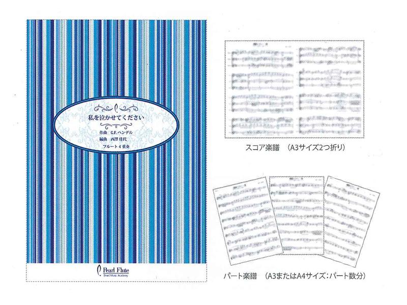 アンサンブルスコア&パート楽譜