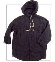 orslow (オアスロウ) 8003-662 春、夏に着たいリネン素材の7分袖 CPOシャツパーカー