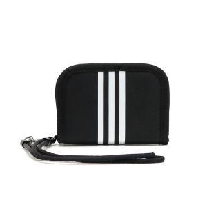 最大10%獲得【メール便】アディダス 二つ折り財布 財布 adidas 財布 二つ折り コンパクト ラウンドファスナー キッズ 57613 ギャレリア Bag&Luggage