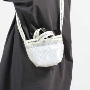 ビューティフルピープル ショルダーバッグ beautiful people 斜めがけ 小さめ ビニールテープミニバッグ 透明 ビニール レディース 1115611921 ギャレリア Bag&Luggage