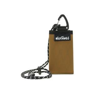 【メール便】 ワイルドシングス ネックウォレット WILD THINGS 三つ折り財布 X-PAC 財布 三つ折り ミニ財布 小さい財布 ミニ 小さめ ストラップ 防水 380-1201 ギャレリア Bag&Luggage