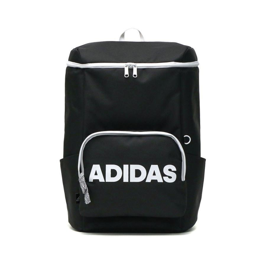 セール アディダス リュック adidas スクエア リュックサック 通学 通学用 通学リュック B4 A4 31L 大容量 軽量 男子 女子 中学 高校 57597|galleria-store|22