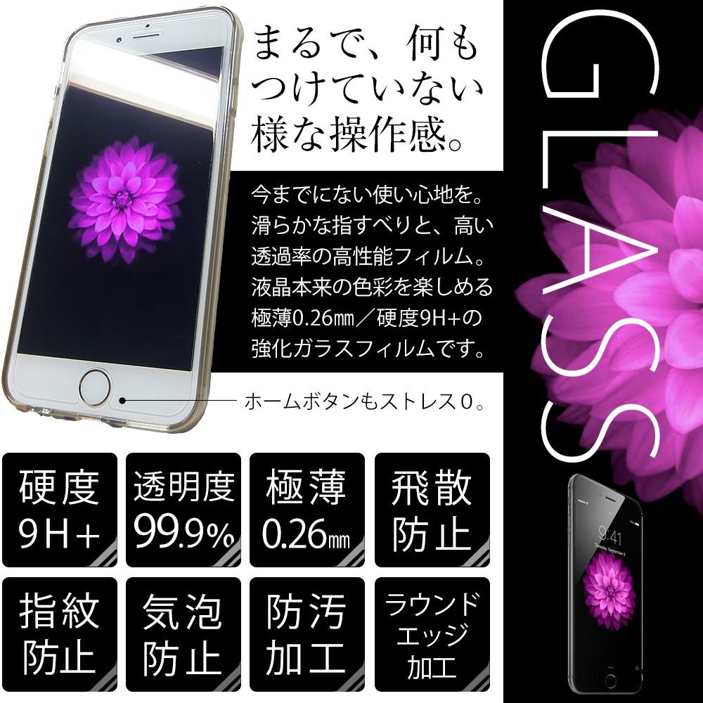 iphone6 4'7インチ 強化ガラスフィルム