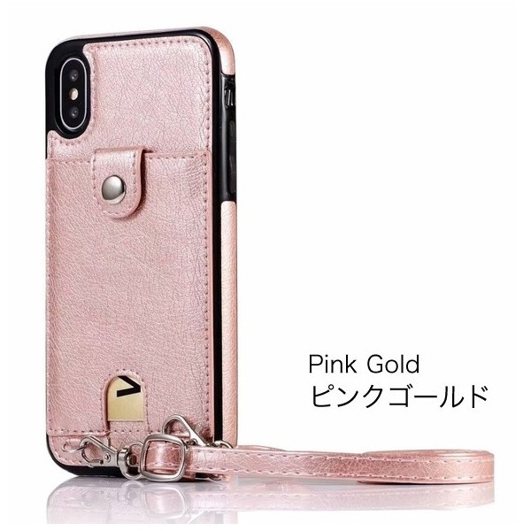 スマホケース ショルダー iPhone 11 11pro 11proMAX XR 8 7 アイフォン 肩掛け ネックストラップ 首掛け カード収納 レディース  メンズ ネックホルダー|galleries|14