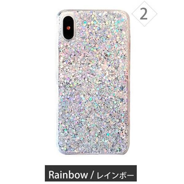 iphone se2 ケース 11 11pro se XR 8 7 キラキラ ラメ シリコン アイフォン 11proMAX 可愛い おしゃれ TPU ケース 透明 半透明 クリアケース|galleries|16
