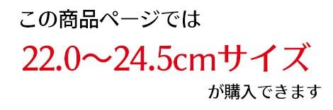 このページは22.0〜24.5サイズ