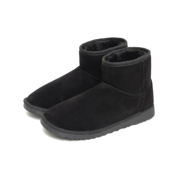 ムートンブーツ レディース ブーツ ショート丈 防寒 撥水 あったかい フェイクムートン 靴 ショートブーツ アンクル 秋 冬