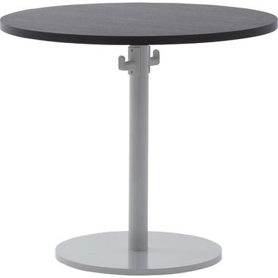 ダークブラウン 丸テーブル カフェ・オフィスに