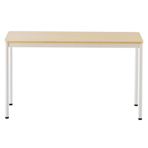 ラディーシリーズ RFシンプルテーブル W1200×D400 [ホワイト/ナチュラル/ダーク] RFSPT-1240 オフィスデスク 事務机 会議テーブル ミーティングテーブル|garage-murabi|09