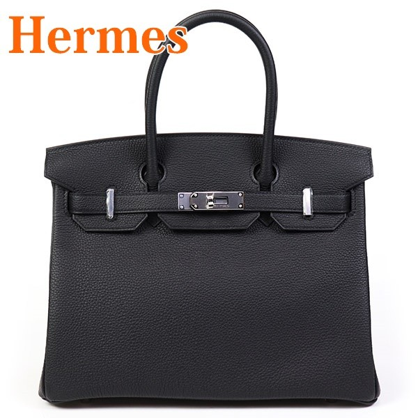 エルメス HERMES レディース バッグ ハンドバッグ バーキン30 ブラック