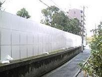 アルミフラット(仮囲い)(高さ 3m)