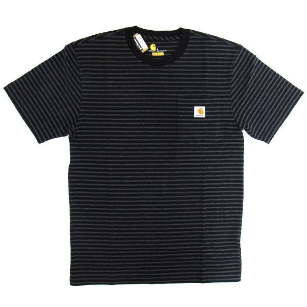 カーハート Carhartt K87 ワークウェア ポケット付きTシャツ 半袖 ミッドウェイト(メール便可) gb-int 18