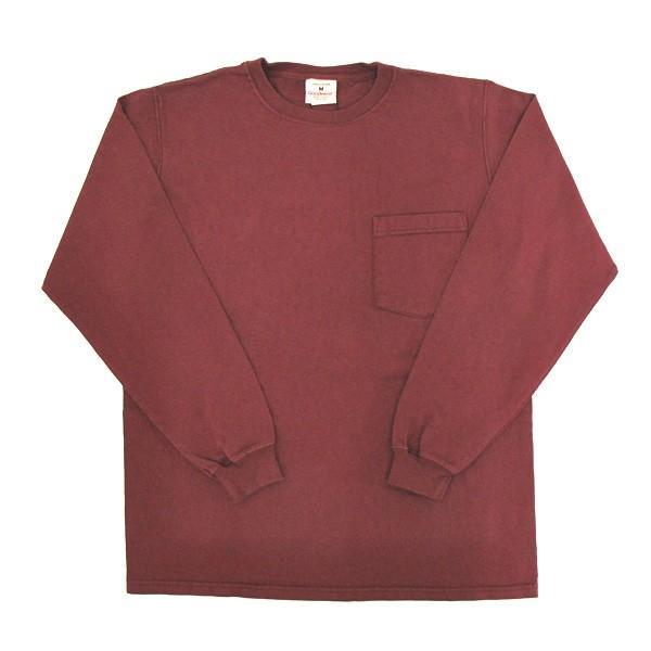 GOODWEAR グッドウェア 長袖 ポケット付きTシャツ 無地(メール便不可)|gb-int|12