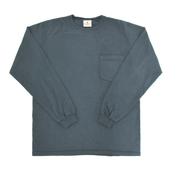 GOODWEAR グッドウェア 長袖 ポケット付きTシャツ 無地(メール便不可)|gb-int|11