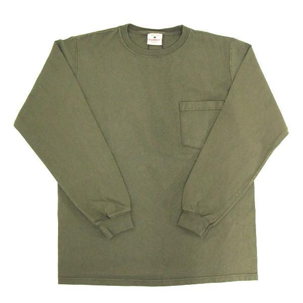 GOODWEAR グッドウェア 長袖 ポケット付きTシャツ 無地(メール便不可)|gb-int|13