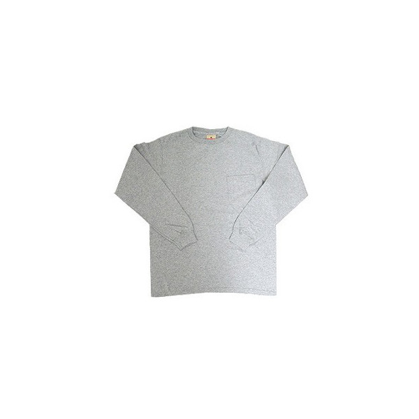 GOODWEAR グッドウェア 長袖 ポケット付きTシャツ 無地(メール便不可)|gb-int|09