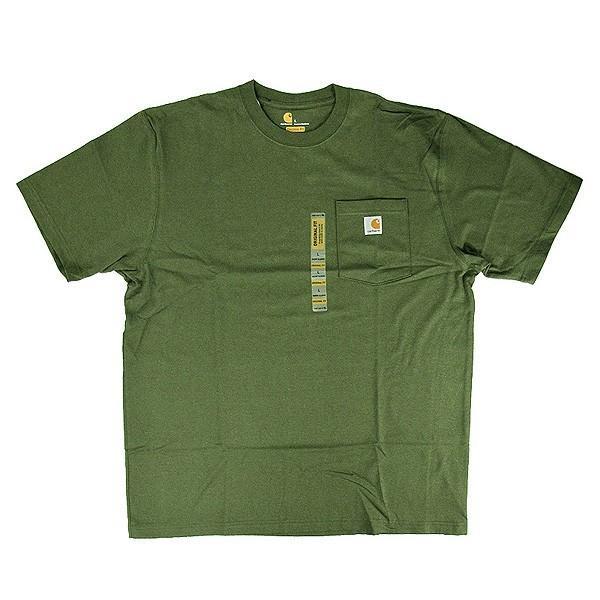 カーハート Carhartt K87 ワークウェア ポケット付きTシャツ 半袖 ミッドウェイト(メール便可) gb-int 07