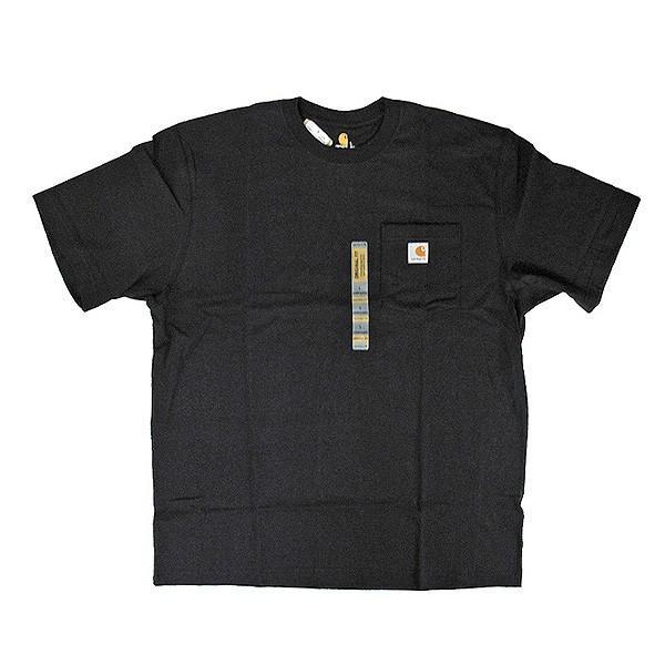 カーハート Carhartt K87 ワークウェア ポケット付きTシャツ 半袖 ミッドウェイト(メール便可) gb-int 08