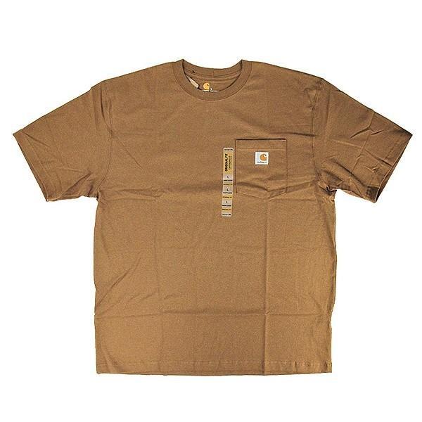 カーハート Carhartt K87 ワークウェア ポケット付きTシャツ 半袖 ミッドウェイト(メール便可) gb-int 09