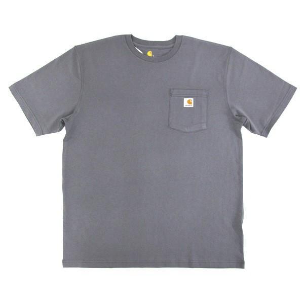 カーハート Carhartt K87 ワークウェア ポケット付きTシャツ 半袖 ミッドウェイト(メール便可) gb-int 17